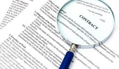 юридических анализ договоров